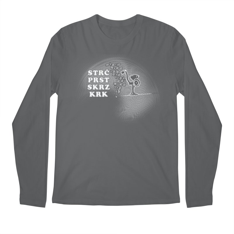 The Dark Grind Men's Longsleeve T-Shirt by Half Moon Giraffe