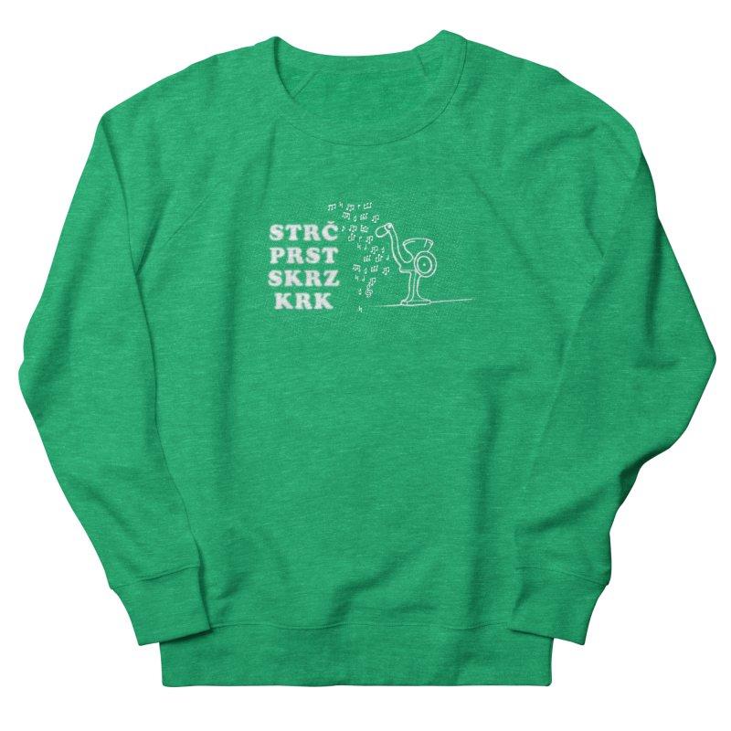 The Dark Grind Men's French Terry Sweatshirt by Half Moon Giraffe