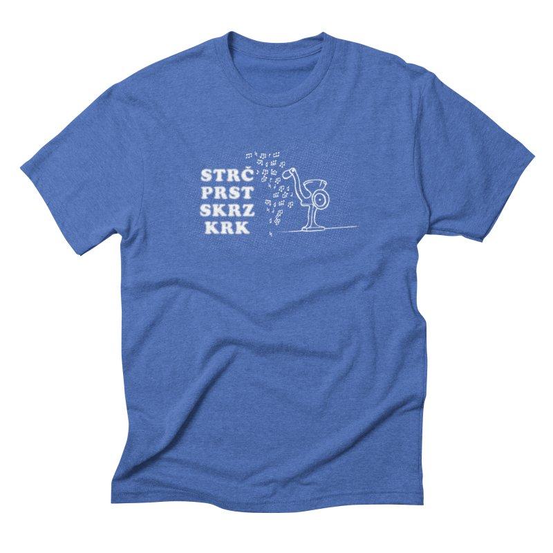The Dark Grind Men's Triblend T-Shirt by Half Moon Giraffe