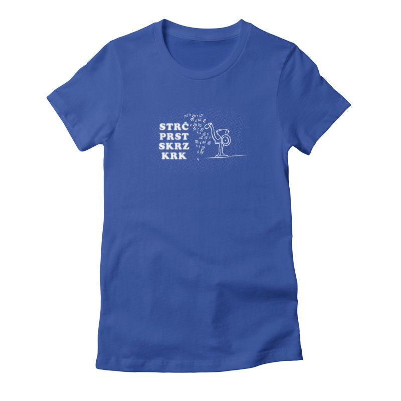 The Dark Grind Women's Fitted T-Shirt by Half Moon Giraffe
