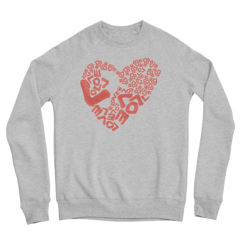 L- for CORAL Women's Sponge Fleece Sweatshirt by Half Moon Giraffe