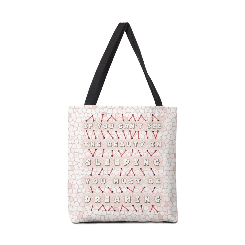 Sleeping Beauty Accessories Tote Bag Bag by Half Moon Giraffe