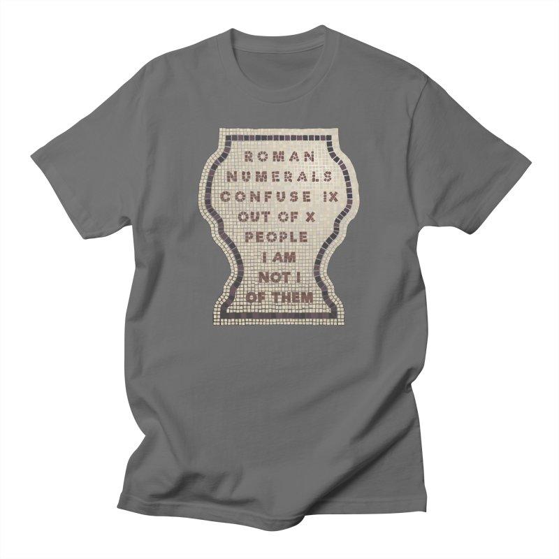 X = IX + I: Roman Numerals Men's T-Shirt by Half Moon Giraffe