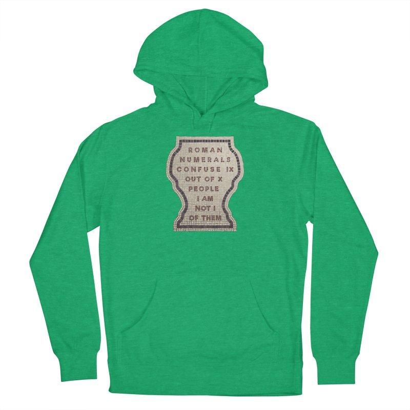 X = IX + I: Roman Numerals Women's Pullover Hoody by Half Moon Giraffe