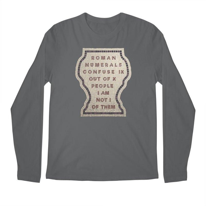 X = IX + I Men's Regular Longsleeve T-Shirt by Half Moon Giraffe