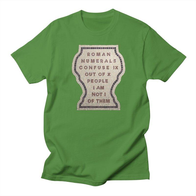X = IX + I Women's Regular Unisex T-Shirt by Half Moon Giraffe