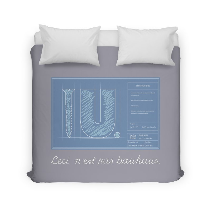 To The Point Home Duvet by Half Moon Giraffe