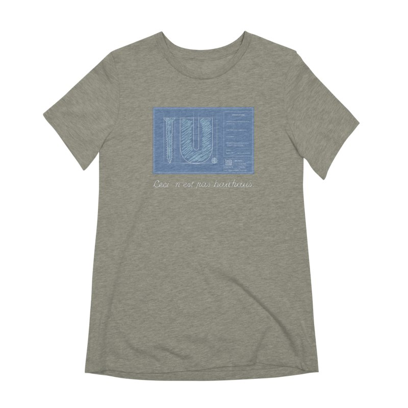 To The Point Women's Extra Soft T-Shirt by Half Moon Giraffe