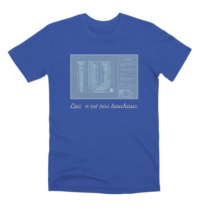 To The Point Men's Premium T-Shirt by Half Moon Giraffe