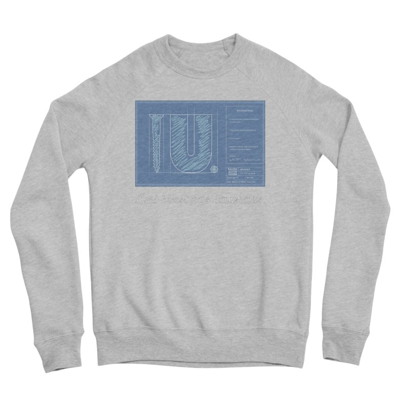 To The Point Men's Sponge Fleece Sweatshirt by Half Moon Giraffe