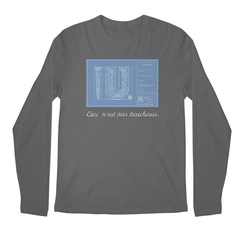 To The Point Men's Regular Longsleeve T-Shirt by Half Moon Giraffe