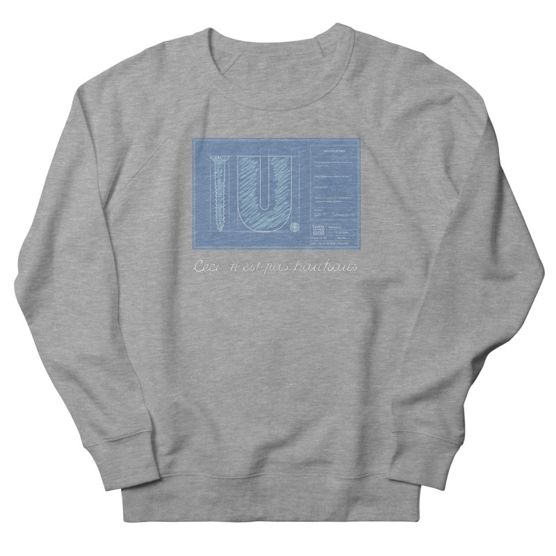 To The Point Women's French Terry Sweatshirt by Half Moon Giraffe