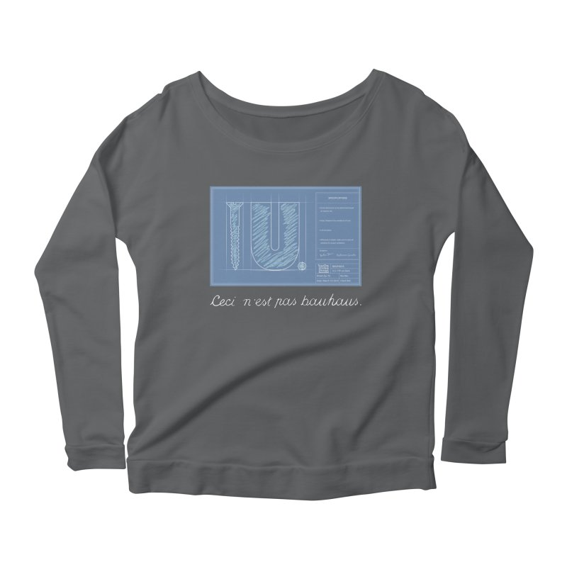 To The Point Women's Longsleeve T-Shirt by Half Moon Giraffe