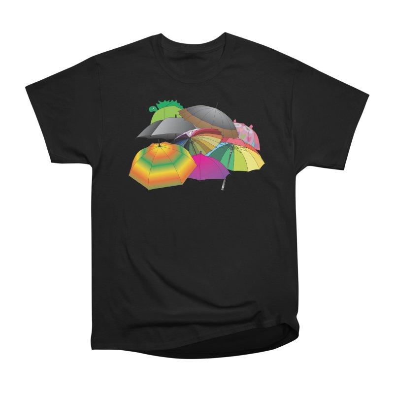 Brollies Men's Heavyweight T-Shirt by Half Moon Giraffe