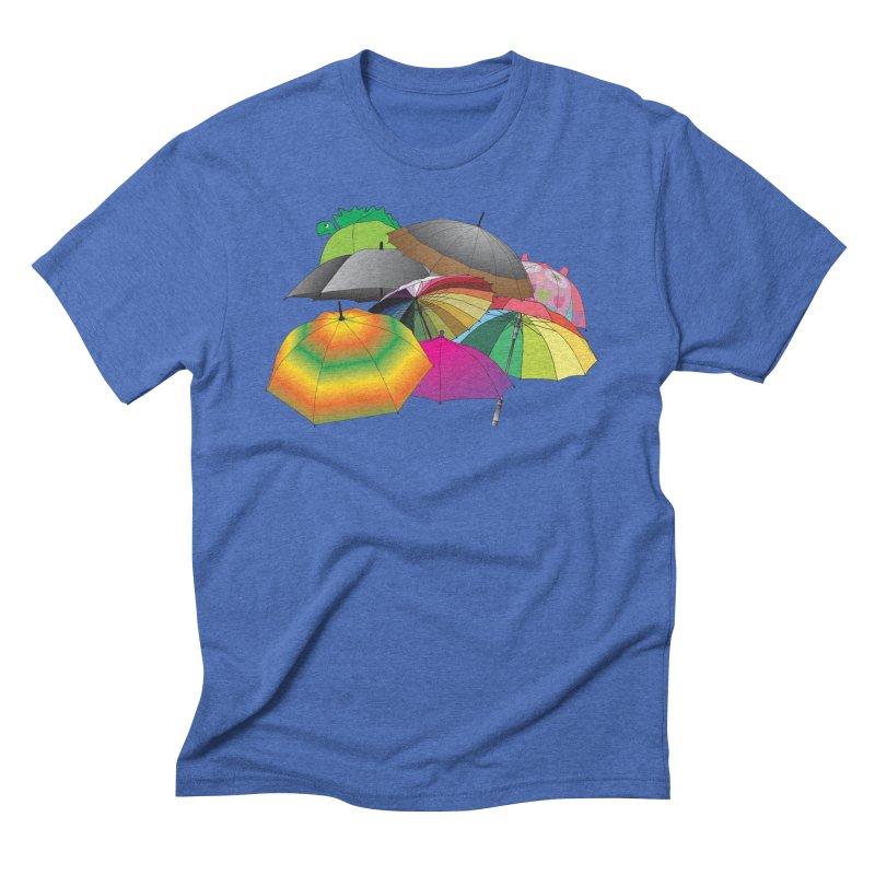 Brollies Men's Triblend T-Shirt by Half Moon Giraffe