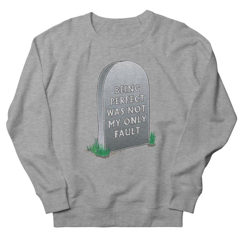 Rest in Perfection Women's French Terry Sweatshirt by Half Moon Giraffe