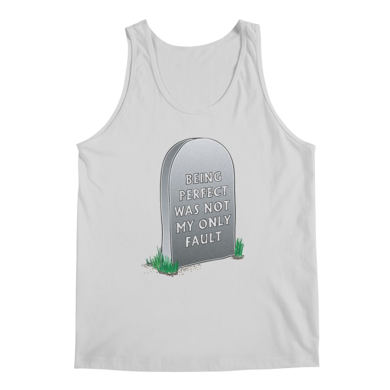 Rest in Perfection Men's Regular Tank by Half Moon Giraffe