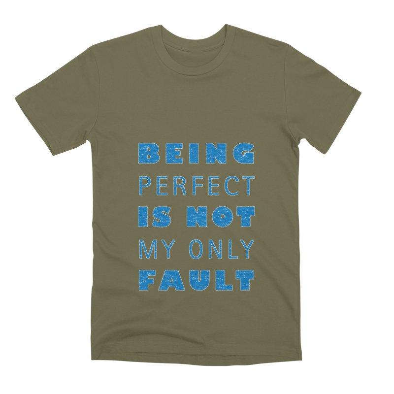 Over the Top Men's Premium T-Shirt by Half Moon Giraffe
