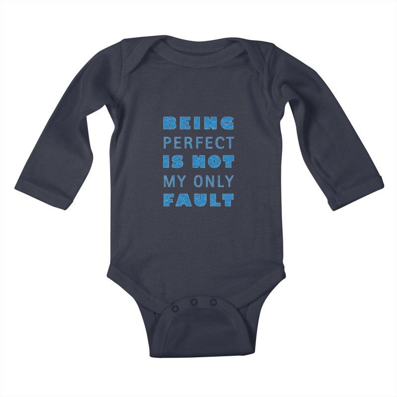 Over the Top Kids Baby Longsleeve Bodysuit by Half Moon Giraffe
