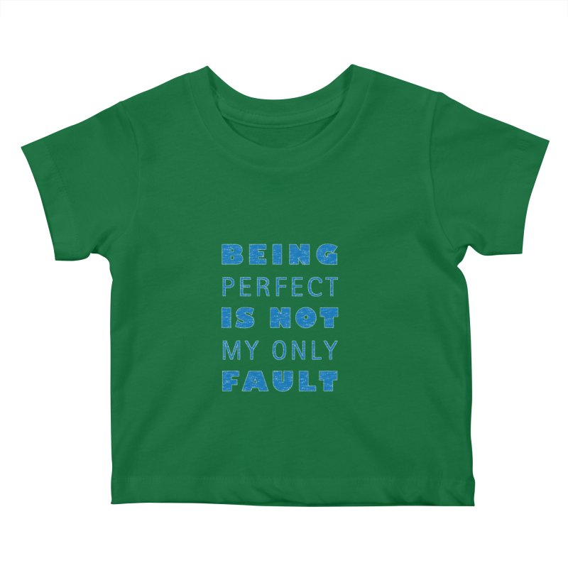 Over the Top Kids Baby T-Shirt by Half Moon Giraffe