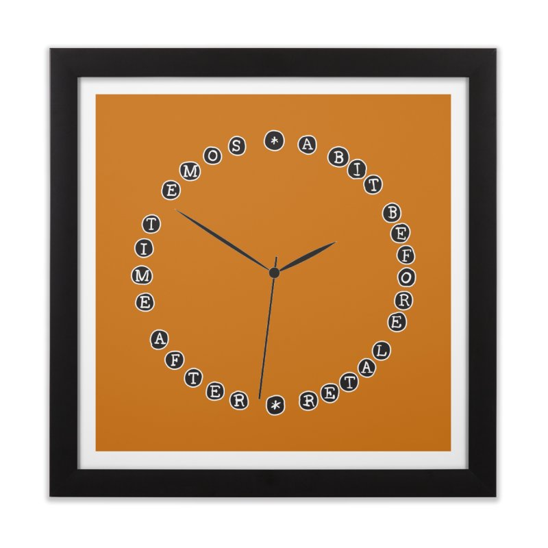 Do You Have The Time? Home Framed Fine Art Print by Half Moon Giraffe