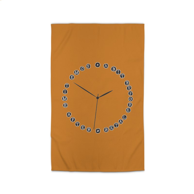 Do You Have The Time? Home Rug by Half Moon Giraffe