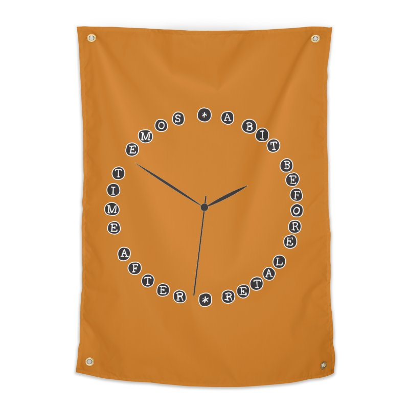 Do You Have The Time? Home Tapestry by Half Moon Giraffe