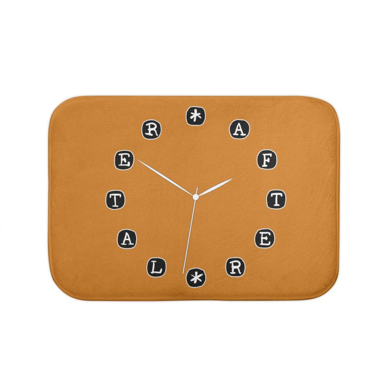 Do You Have The Time? Home Bath Mat by Half Moon Giraffe
