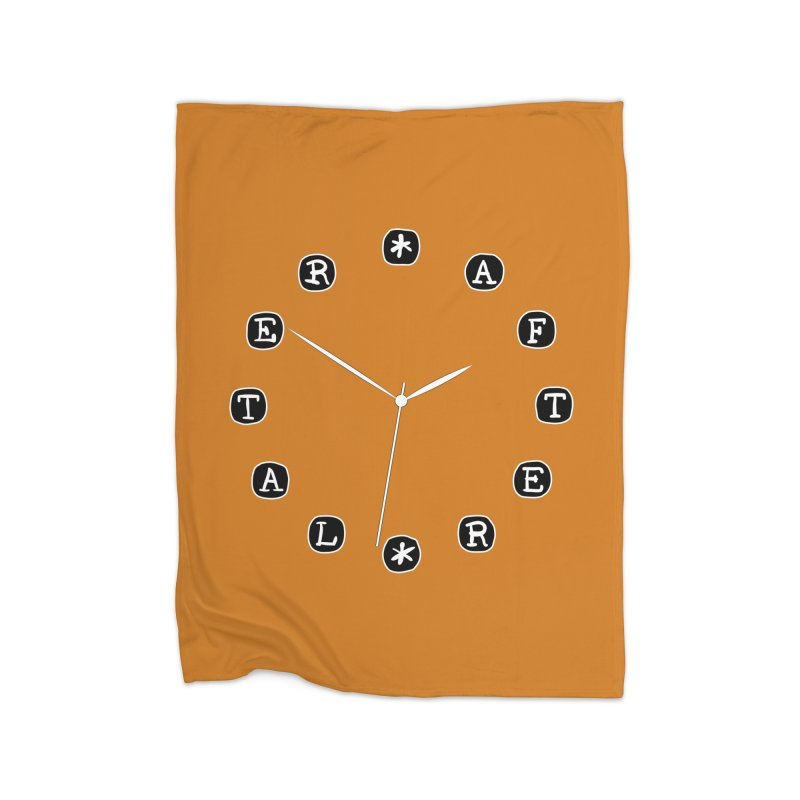 Do You Have The Time? Home Blanket by Half Moon Giraffe