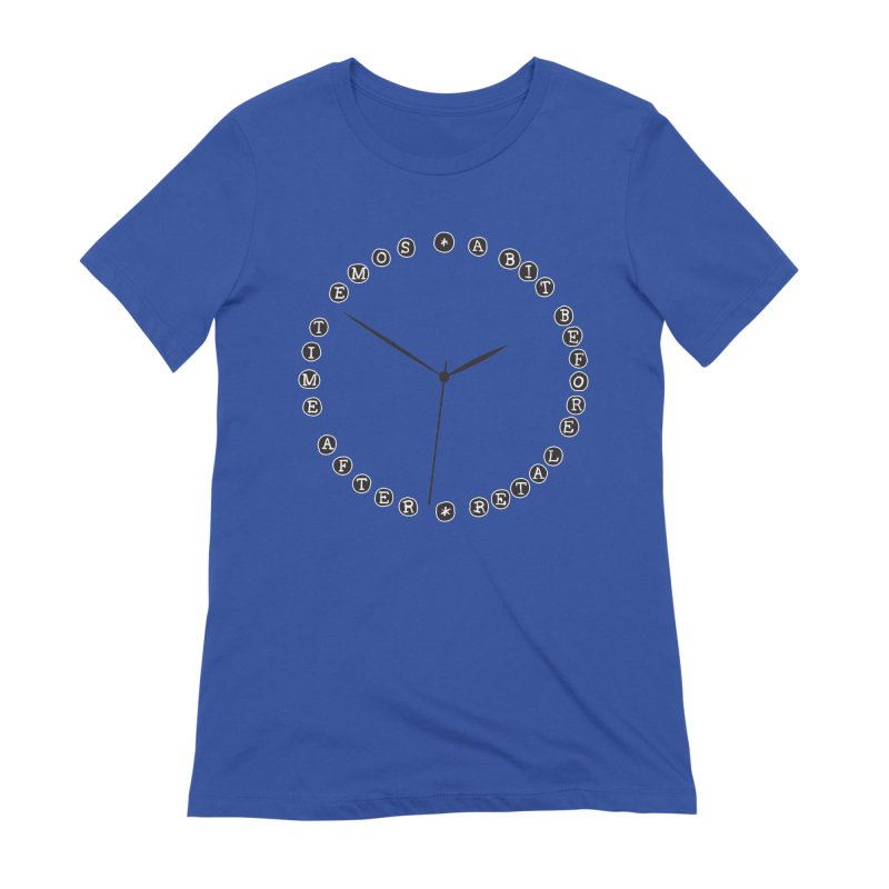 Do You Have The Time? Women's Extra Soft T-Shirt by Half Moon Giraffe