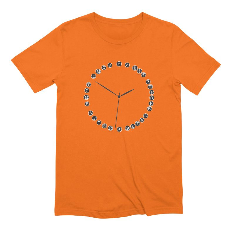 Do You Have The Time? Men's Extra Soft T-Shirt by Half Moon Giraffe