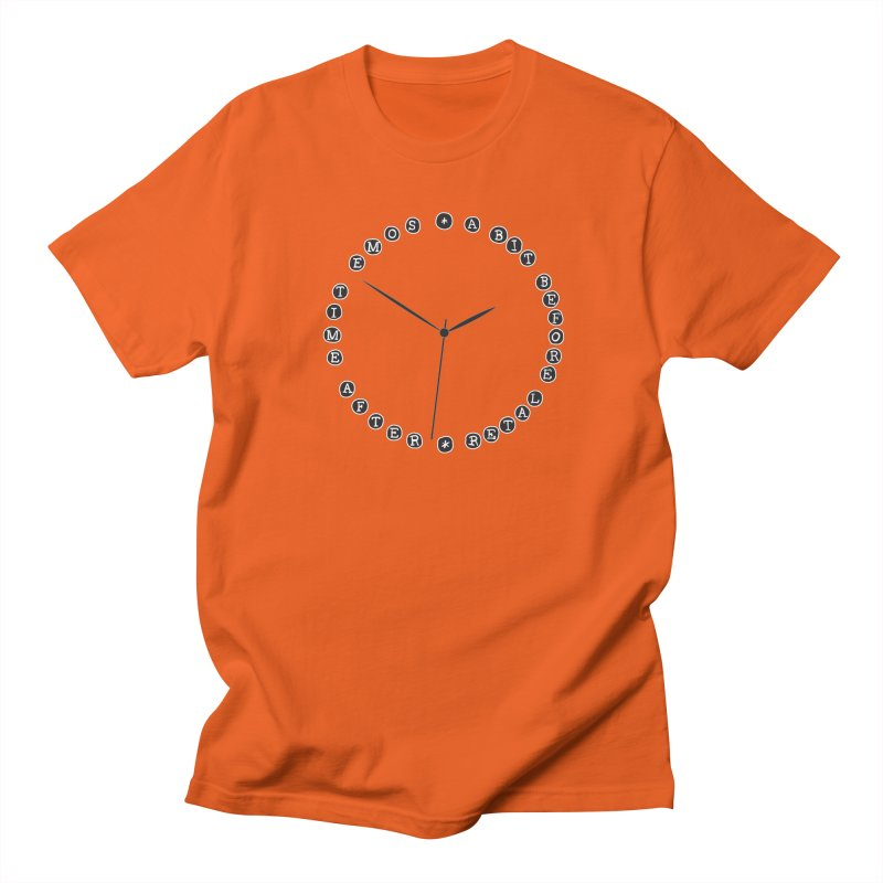 Do You Have The Time? Women's Regular Unisex T-Shirt by Half Moon Giraffe