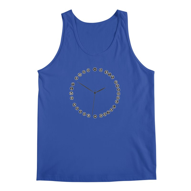 Do You Have The Time? Men's Regular Tank by Half Moon Giraffe