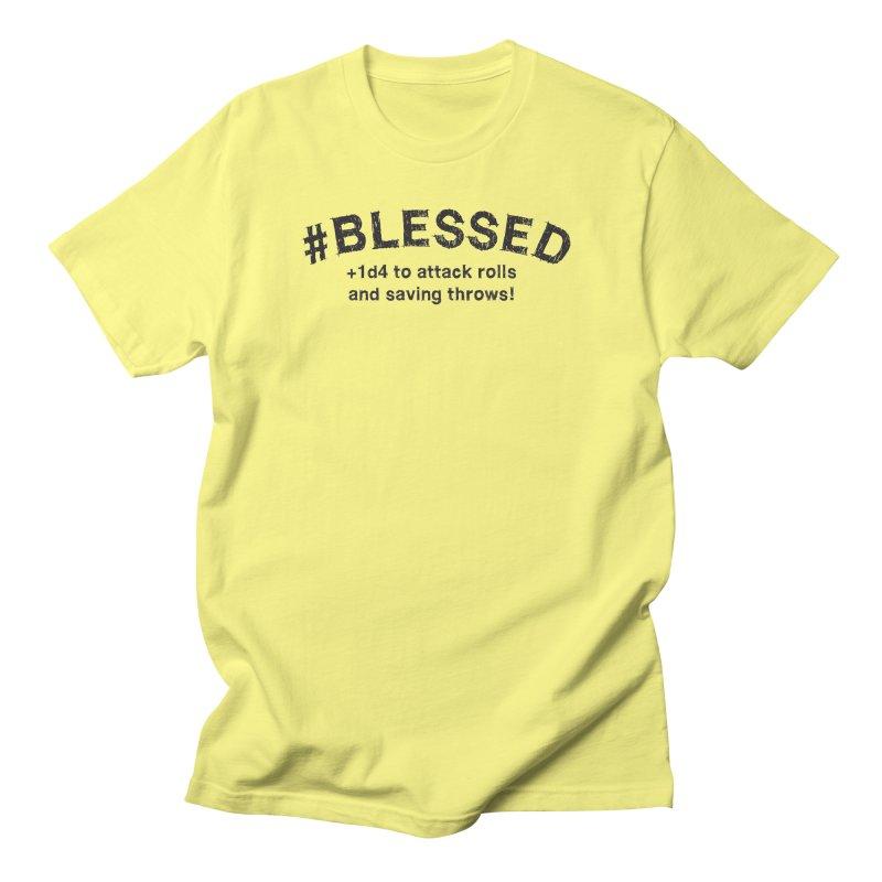 Blessed DnD Shirt Men's T-Shirt by Yaruki Zero Games Merch Store