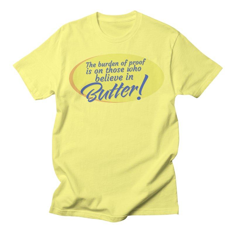 Butter is Unbelievable Men's T-Shirt by Yaruki Zero Games Merch Store