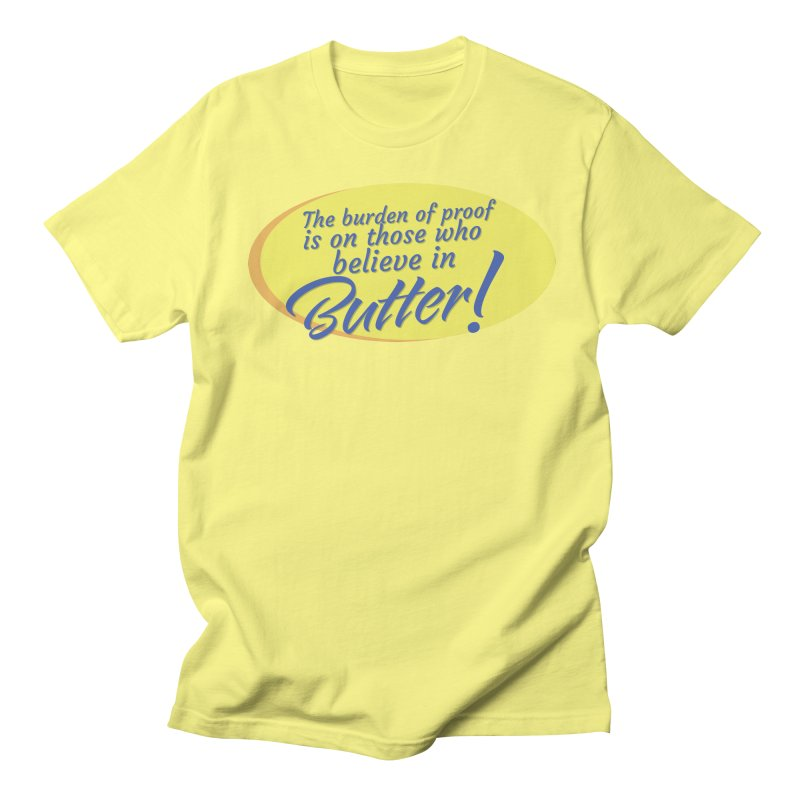 Butter is Unbelievable Men's T-Shirt by Yaruki Zero Games Merch Store