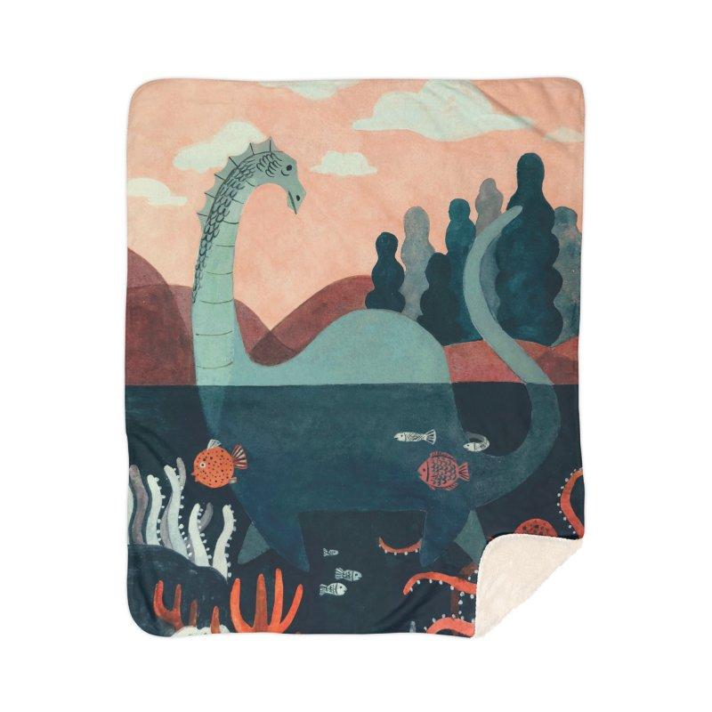 Lochness Home Sherpa Blanket Blanket by Yasmin Imamura