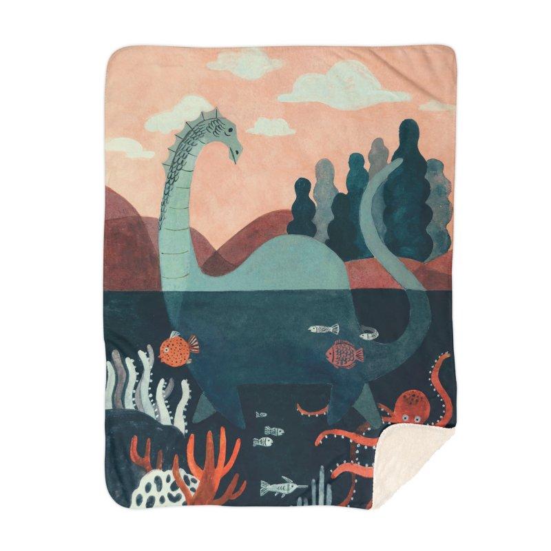 Lochness Home Blanket by Yasmin Imamura