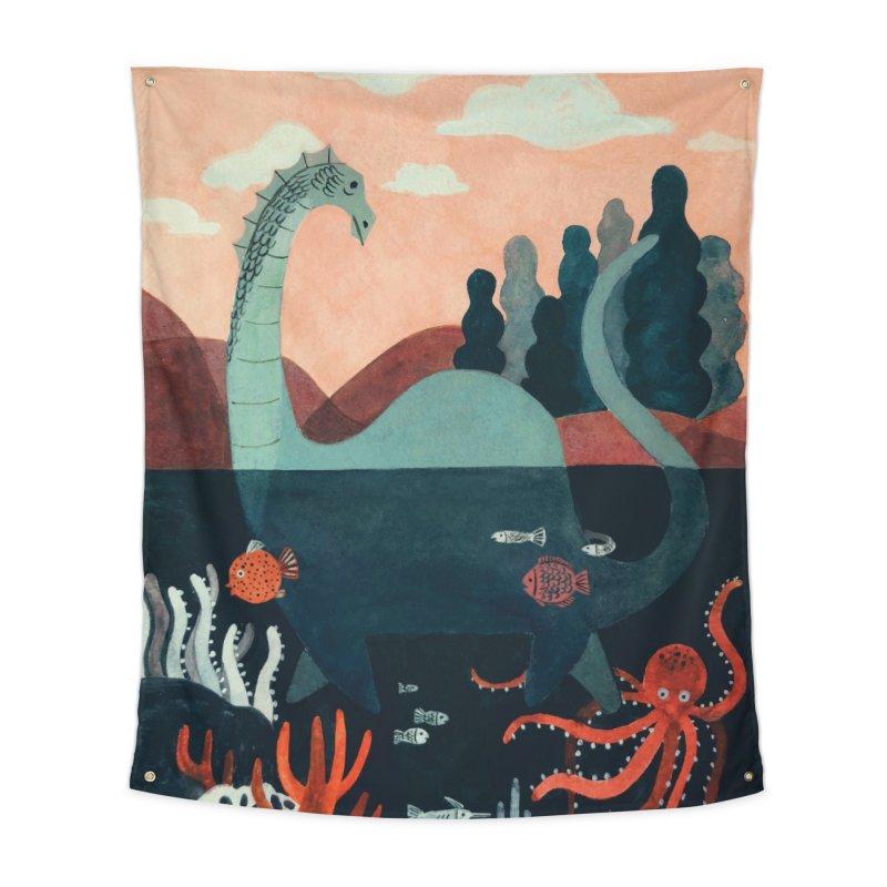 Lochness Home Tapestry by Yasmin Imamura