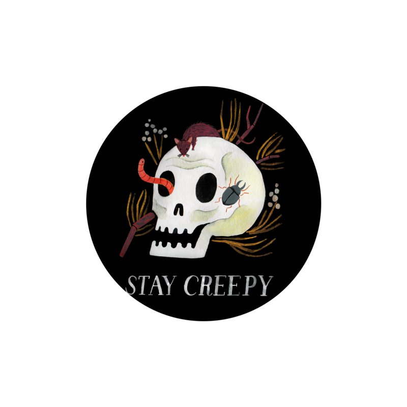 Stay Creepy Kids Baby T-Shirt by Yasmin Imamura