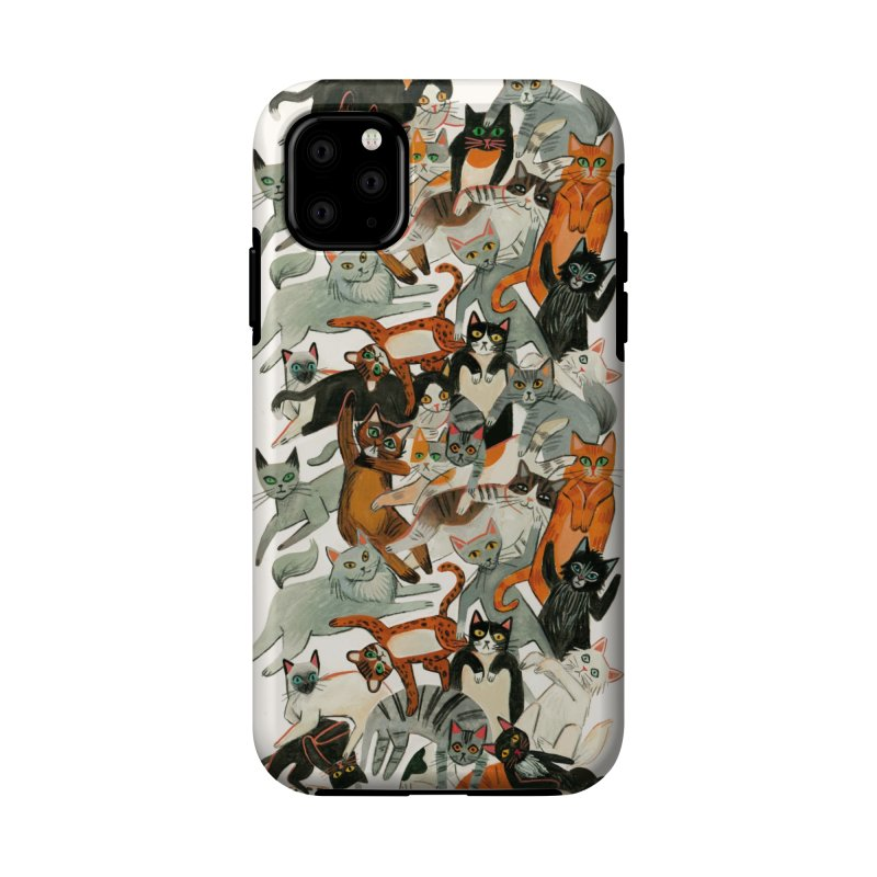 Cats Accessories Phone Case by Yasmin Imamura