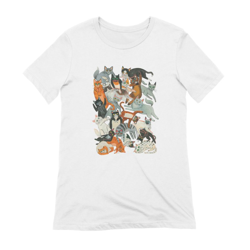 Cats Women's Extra Soft T-Shirt by Yasmin Imamura