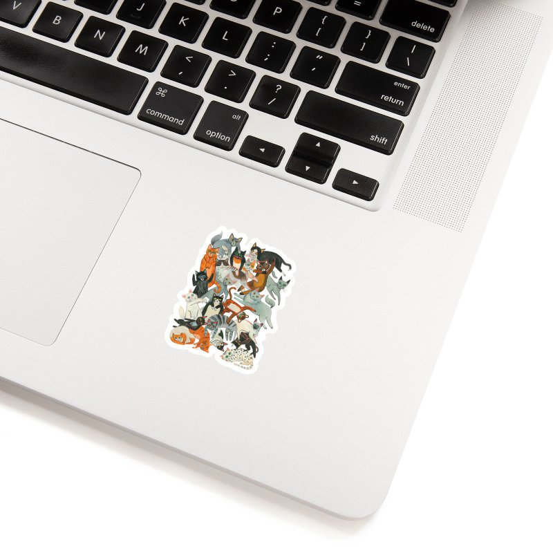 Cats Accessories Sticker by Yasmin Imamura