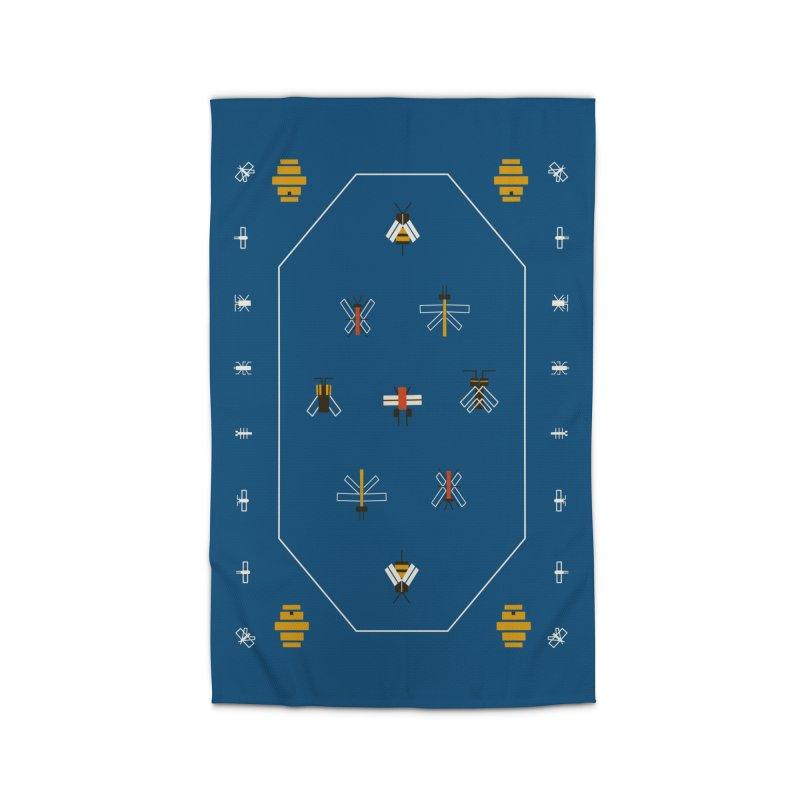 Bugs Home Rug by Yasmin Imamura