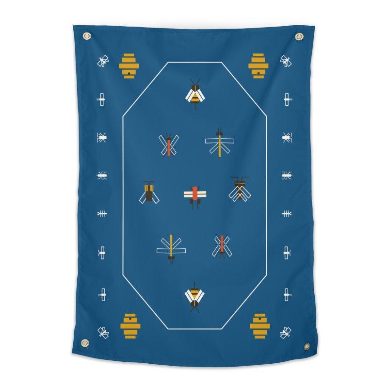 Bugs Home Tapestry by Yasmin Imamura