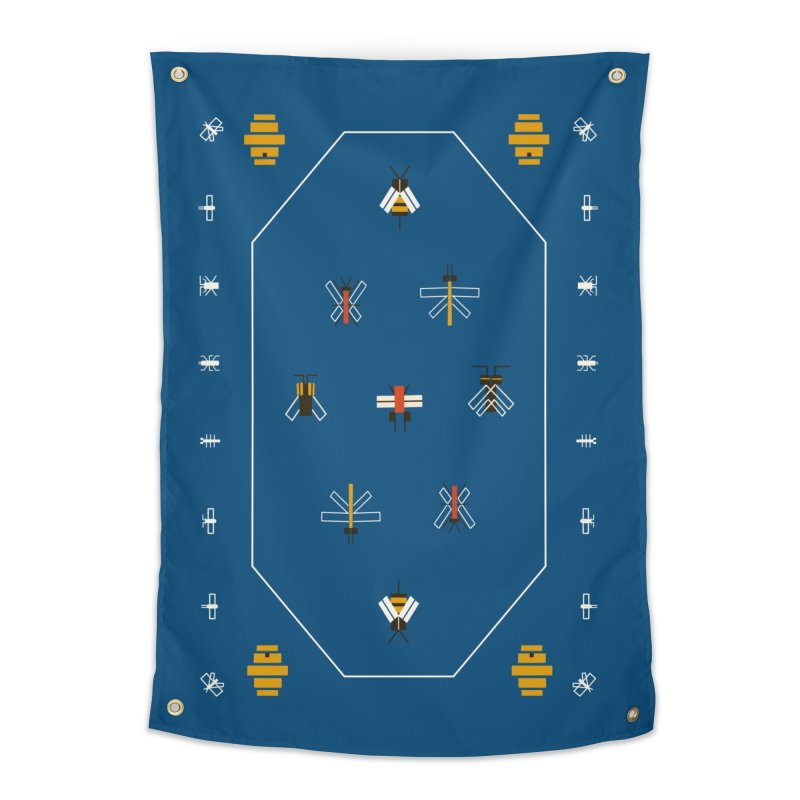 Bugs Home Tapestry by Yasmin Imamura