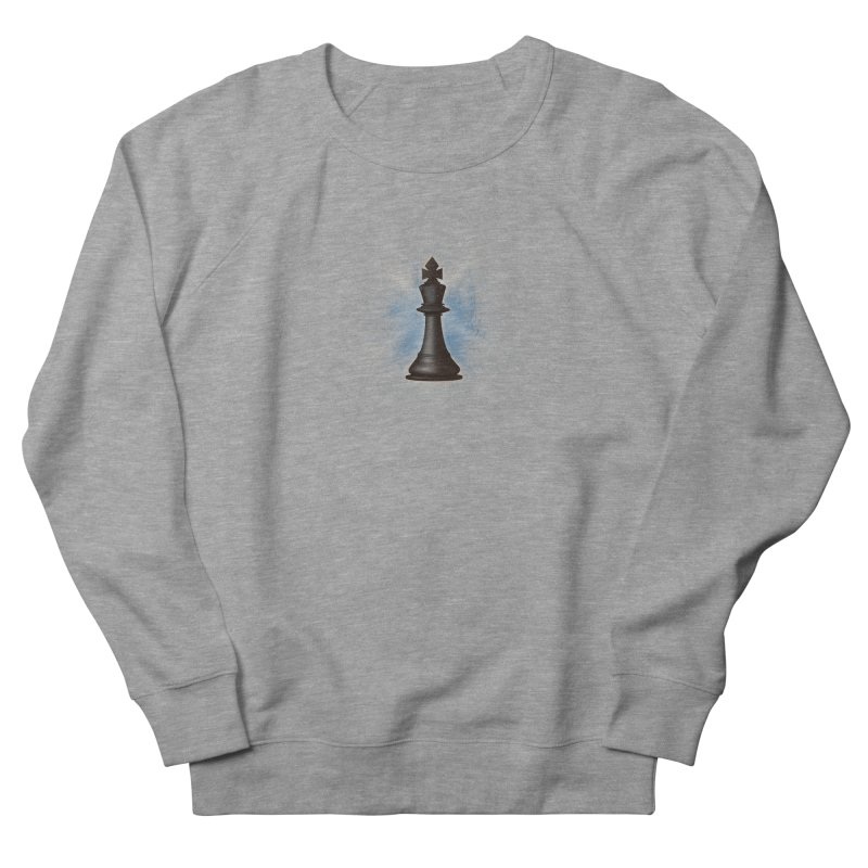 Chess King Women's French Terry Sweatshirt by yavuzkorpefiliz's Artist Shop