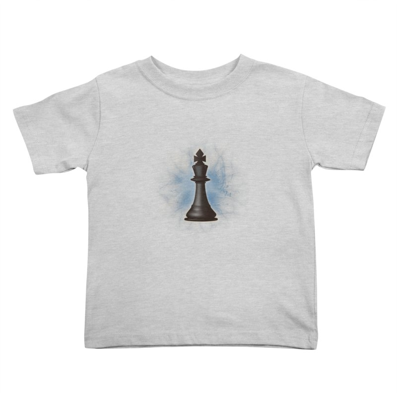 Chess King Kids Toddler T-Shirt by yavuzkorpefiliz's Artist Shop