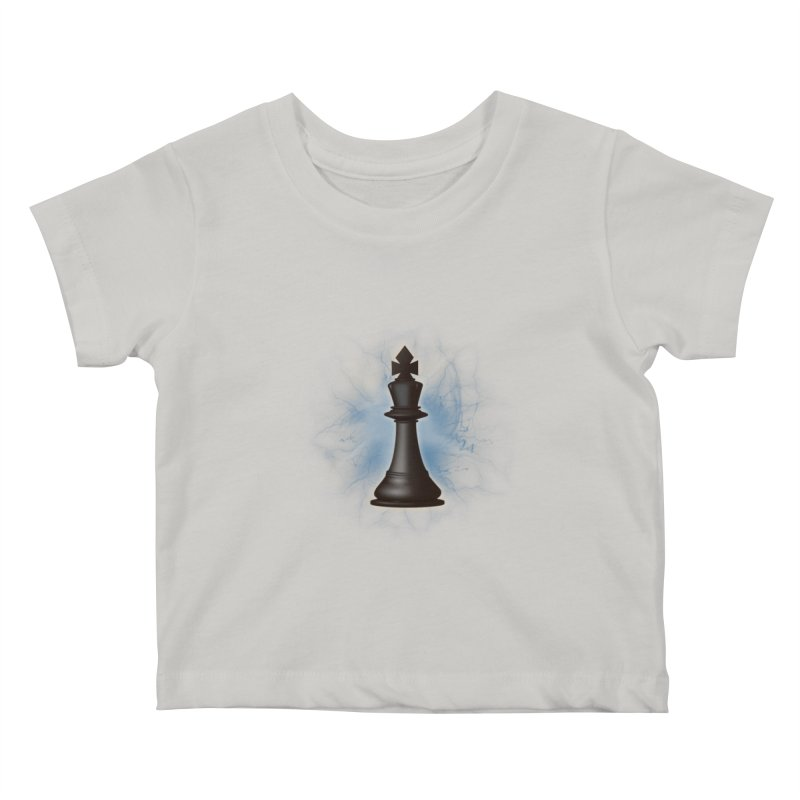 Chess King Kids Baby T-Shirt by yavuzkorpefiliz's Artist Shop