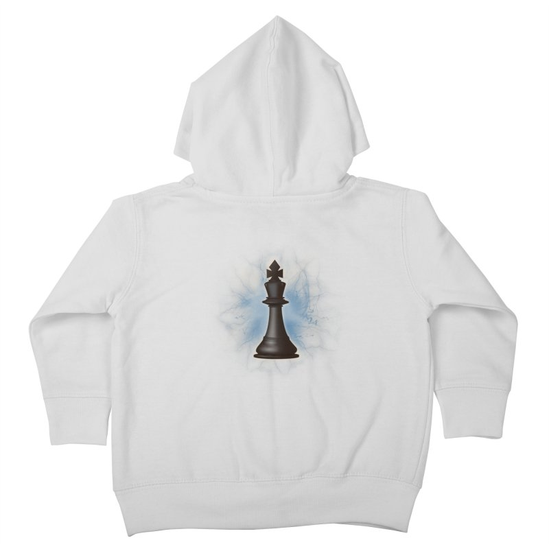 Chess King Kids Toddler Zip-Up Hoody by yavuzkorpefiliz's Artist Shop